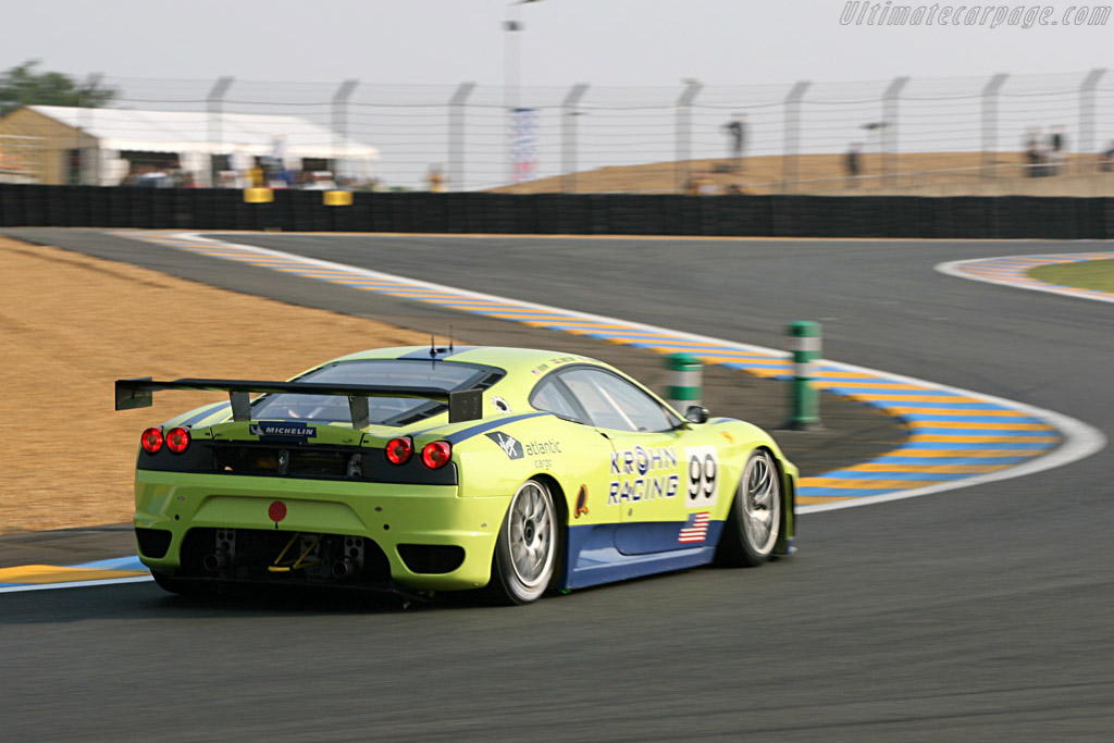 Ferrari F430 GTC - Chassis: 2438b - Entrant: Risi Competizione  - 2007 24 Hours of Le Mans Preview