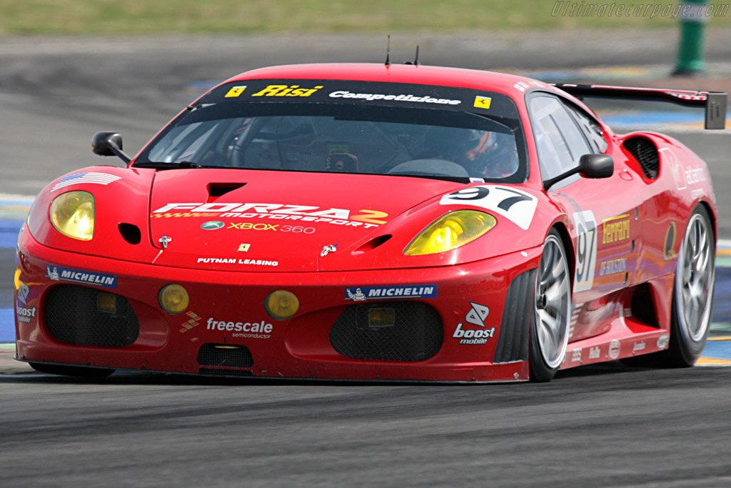 Ferrari F430 GTC - Chassis: 2406 - Entrant: Risi Competizione  - 2007 24 Hours of Le Mans Preview