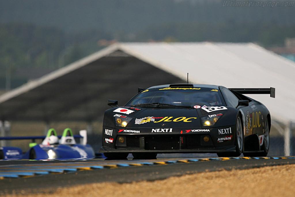 Lamborghini Murcielago R-GT - Chassis: LA01063 - Entrant: JLOC Isoa Noritake  - 2007 24 Hours of Le Mans Preview
