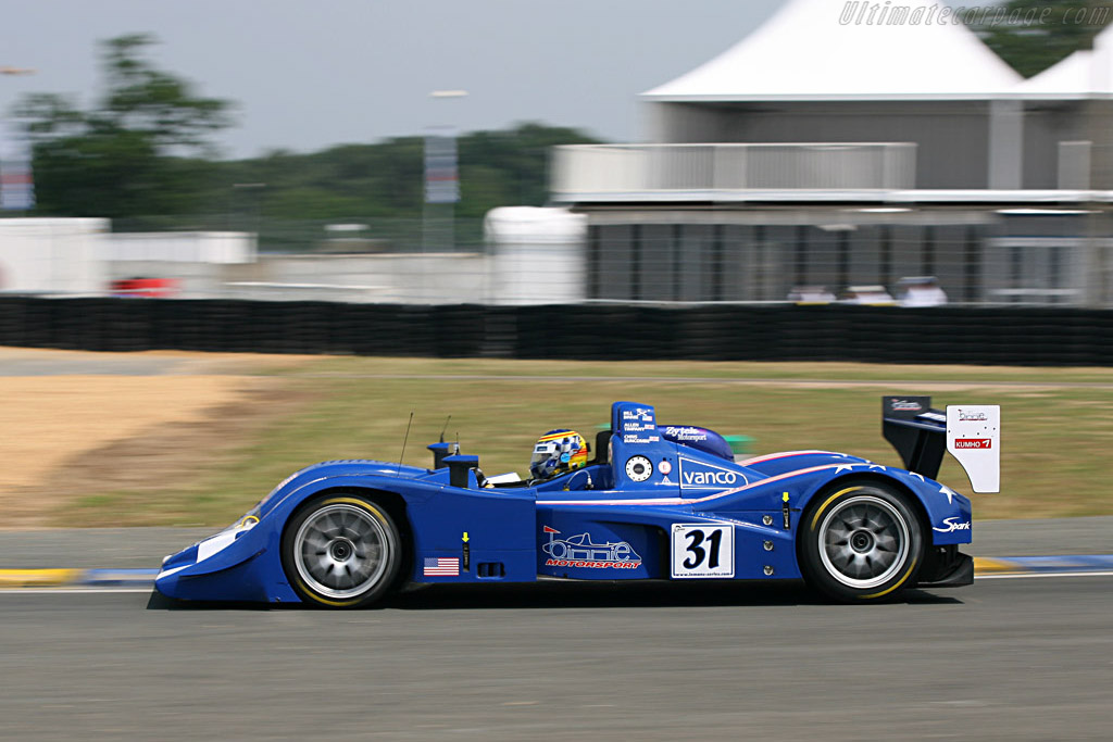 Lola B05/40 Zytek - Chassis: B0540-HU02 - Entrant: Binnie Motorsports  - 2007 24 Hours of Le Mans Preview