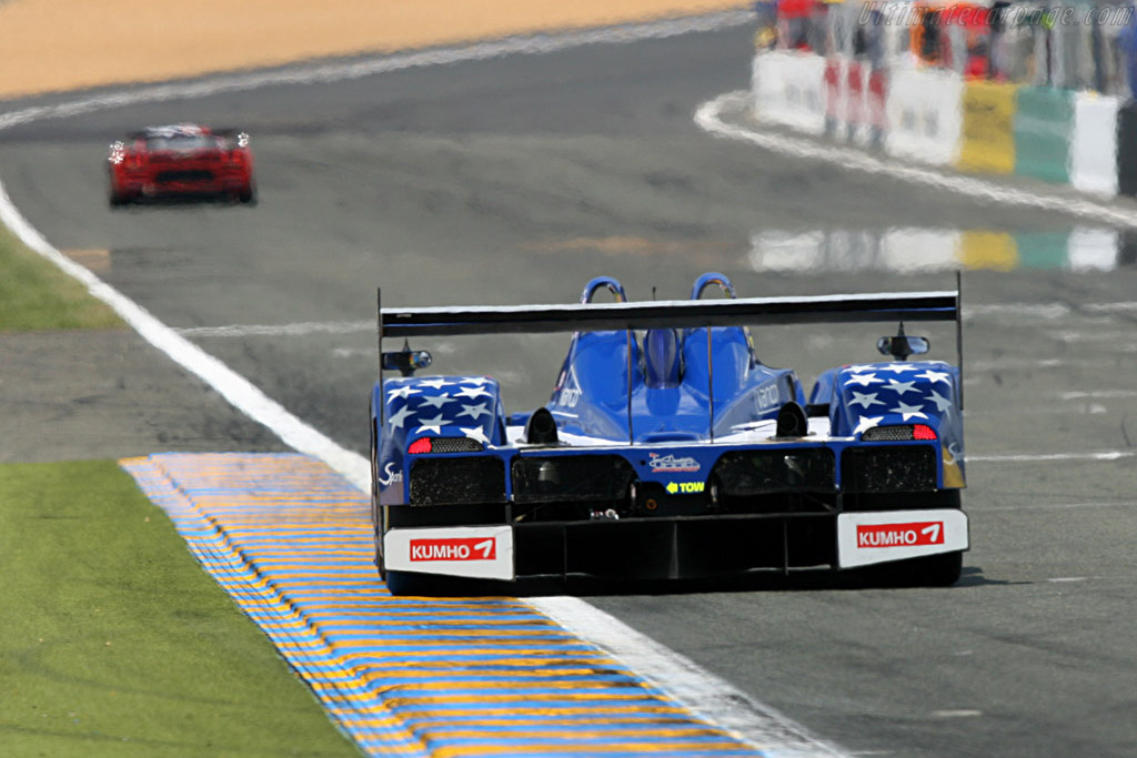 Lola B05/40 Zytek - Chassis: B0540-HU02 - Entrant: Binnie Motorsports  - 2007 24 Hours of Le Mans Preview
