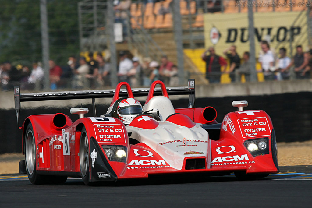 Lola B07/10 Audi - Chassis: B0710-HU01 - Entrant: Swiss Spirit  - 2007 24 Hours of Le Mans Preview