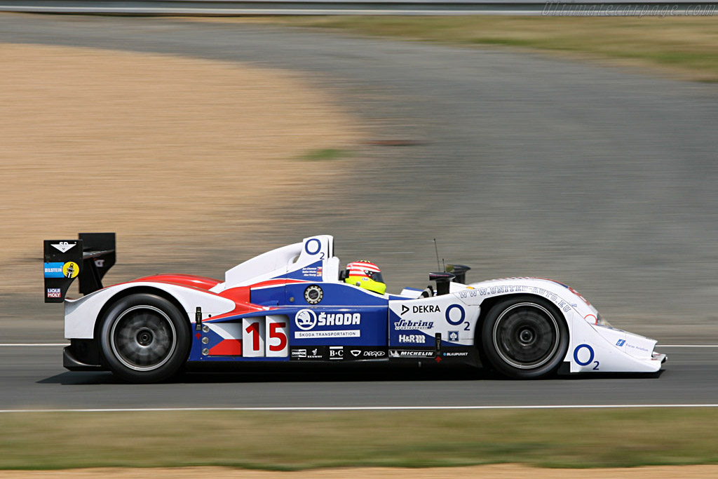 Lola B07/10 Judd - Chassis: B0610-HU03 - Entrant: Charouz Racing System  - 2007 24 Hours of Le Mans Preview