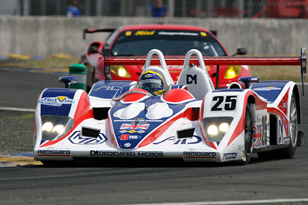 MG Lola EX264 - Chassis: B0540-HU05 - Entrant: RML  - 2007 24 Hours of Le Mans Preview