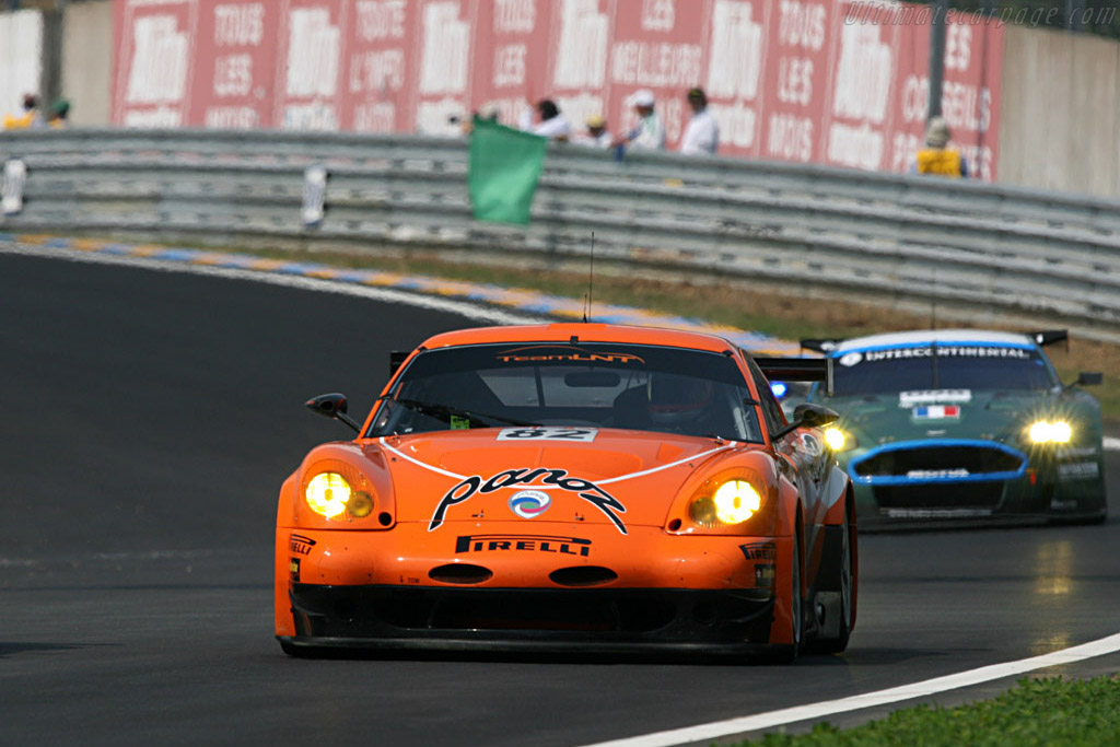 Panoz Esperante GTLM - Chassis: EGTLM 006 - Entrant: Team LNT  - 2007 24 Hours of Le Mans Preview