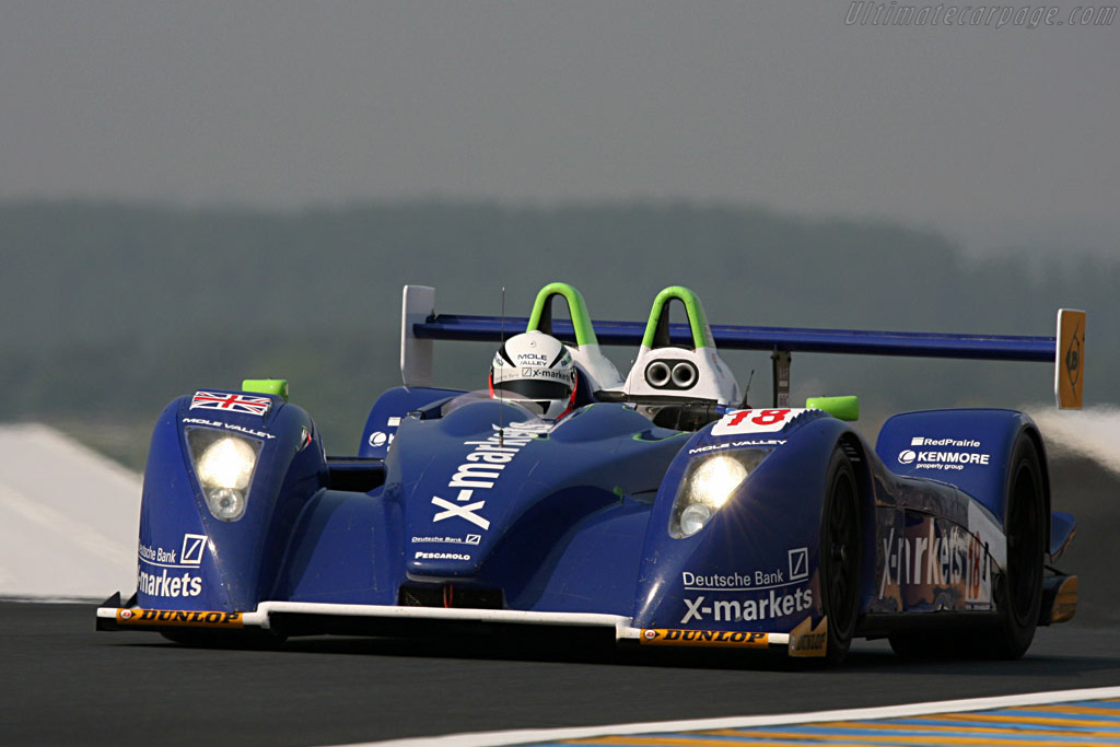 Pescarolo 01 LMP1 Judd - Chassis: 01-04 - Entrant: Rollcentre Racing  - 2007 24 Hours of Le Mans Preview