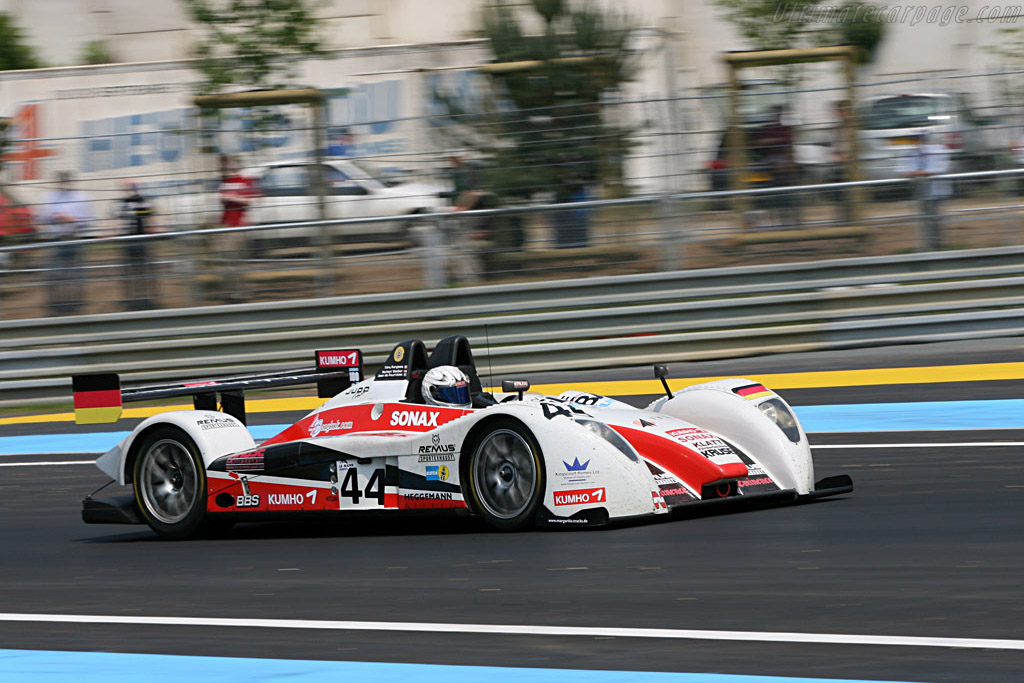 Pescarolo 01 LMP2 Judd - Chassis: 01-02 - Entrant: Kruse Motorsport  - 2007 24 Hours of Le Mans Preview