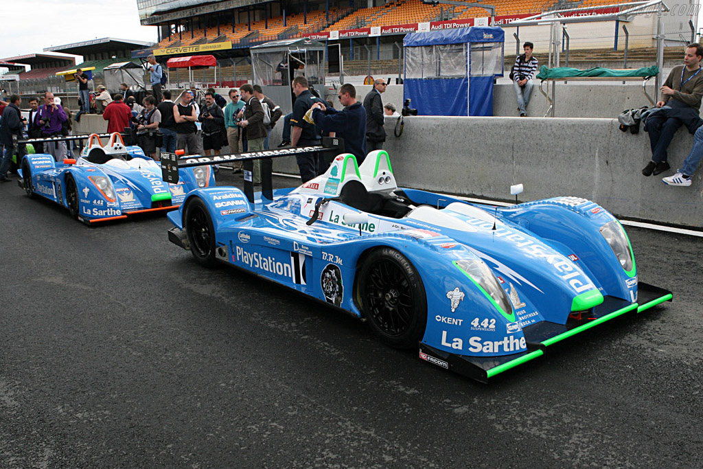 Pescarolos - Chassis: 01-05 - Entrant: Pescarolo Sport  - 2007 24 Hours of Le Mans Preview