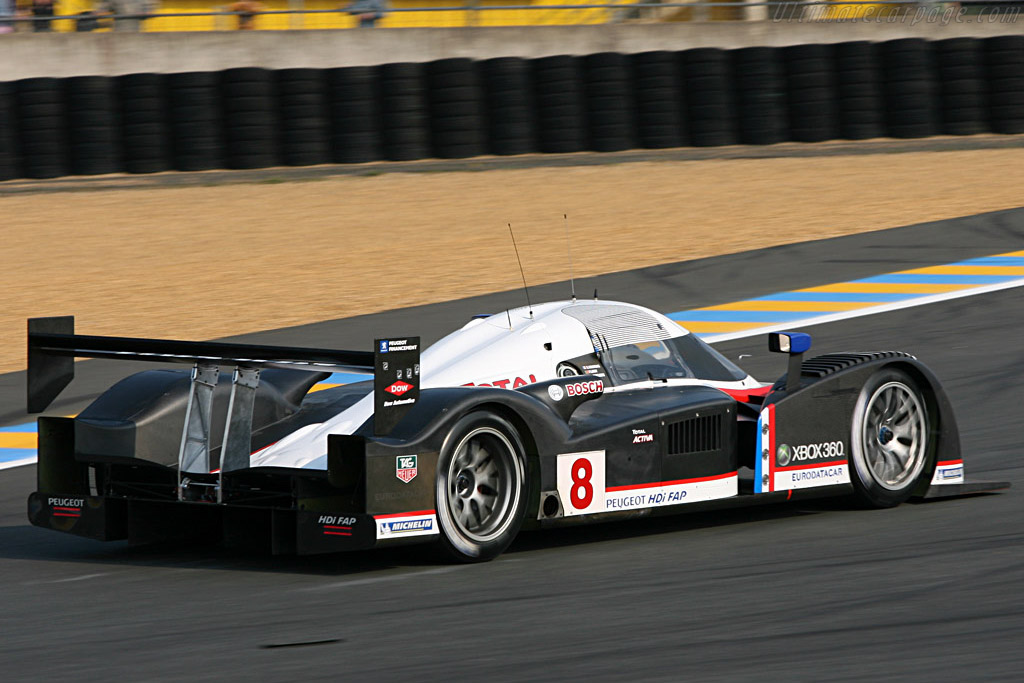 Peugeot 908 HDi FAP - Chassis: 908-03 - Entrant: Team Peugeot Total  - 2007 24 Hours of Le Mans Preview