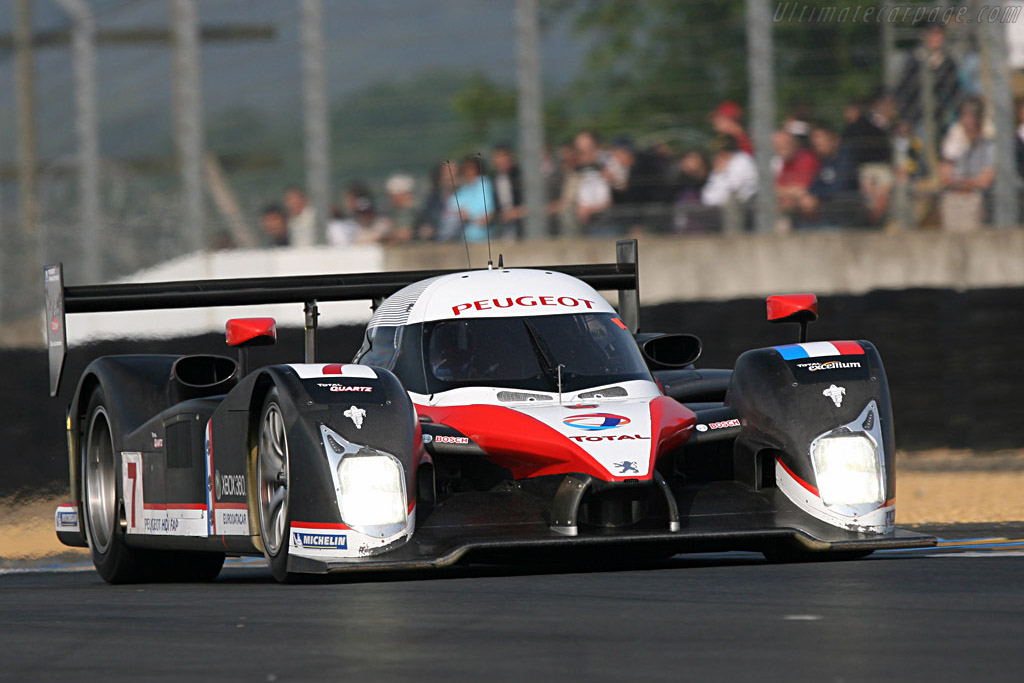 Peugeot 908 HDi FAP - Chassis: 908-02 - Entrant: Team Peugeot Total  - 2007 24 Hours of Le Mans Preview