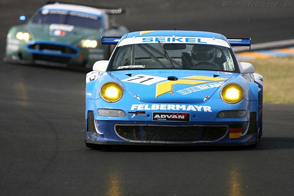 Porsche 997 GT3 RSR - Chassis: WP0ZZZ99Z7S799937 - Entrant: Seikel Motorsport  - 2007 24 Hours of Le Mans Preview