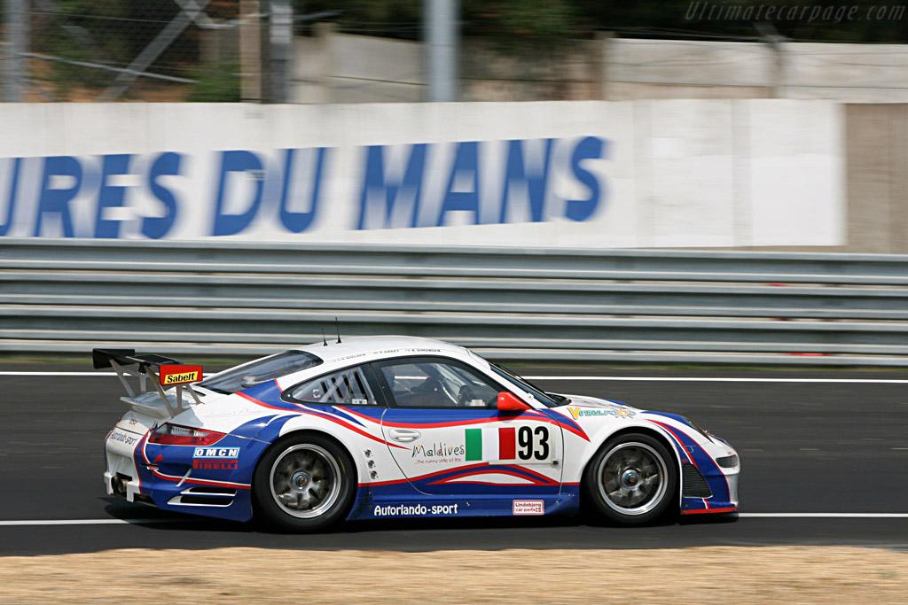 Porsche 997 GT3 RSR - Chassis: WP0ZZZ99Z7S799925 - Entrant: Autorlando Sport  - 2007 24 Hours of Le Mans Preview