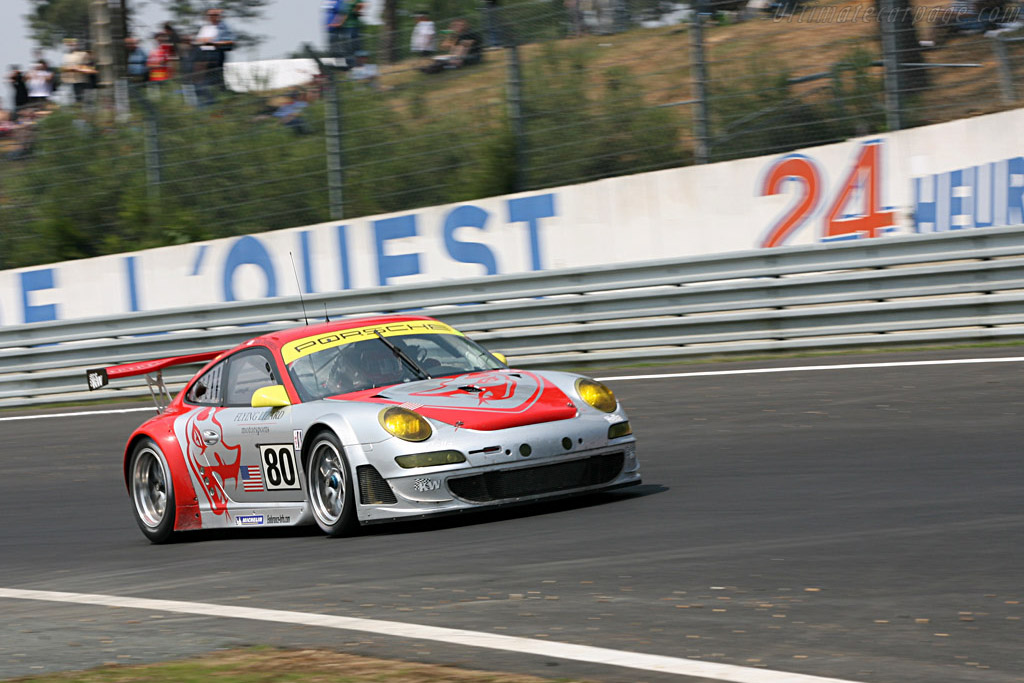 Porsche 997 GT3 RSR - Chassis: WP0ZZZ99Z7S799913 - Entrant: Flying Lizard Motorsport  - 2007 24 Hours of Le Mans Preview