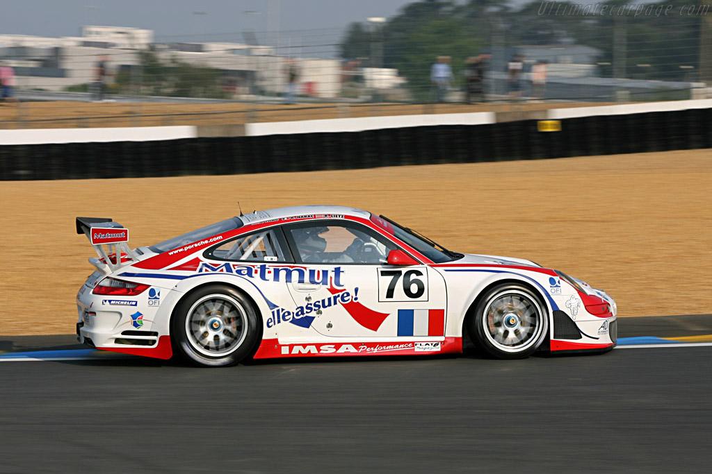 Porsche 997 GT3 RSR - Chassis: WP0ZZZ99Z7S799923 - Entrant: IMSA Performance Matmut  - 2007 24 Hours of Le Mans Preview