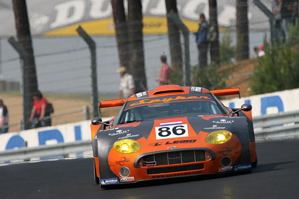 Spyker C8 Spyder GT2R - Chassis: XL9GB11H150363098 - Entrant: Spyker Squadron  - 2007 24 Hours of Le Mans Preview