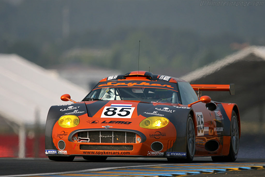 Spyker C8 Spyder GT2R - Chassis: XL9GB11HX50363097 - Entrant: Spyker Squadron  - 2007 24 Hours of Le Mans Preview