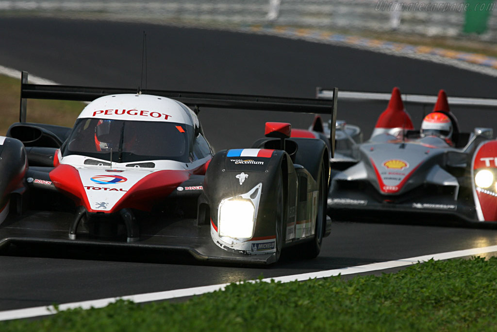 Welcome to Le Mans - Chassis: 908-02 - Entrant: Team Peugeot Total  - 2007 24 Hours of Le Mans Preview