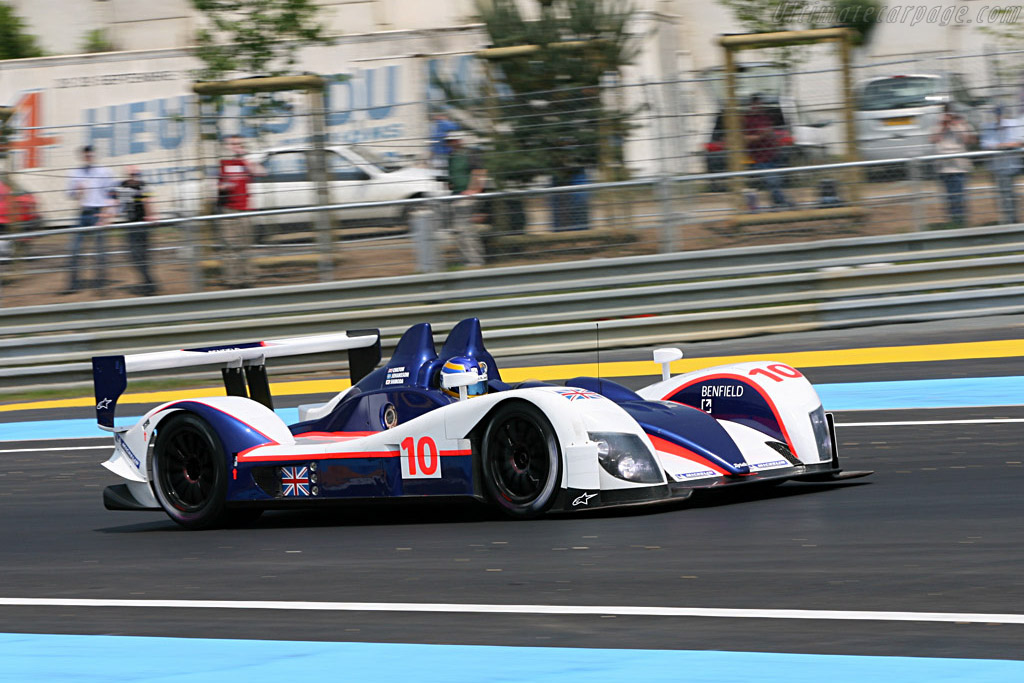 Zytek 07S - Chassis: 07S-02 - Entrant: Arena Motorsport  - 2007 24 Hours of Le Mans Preview
