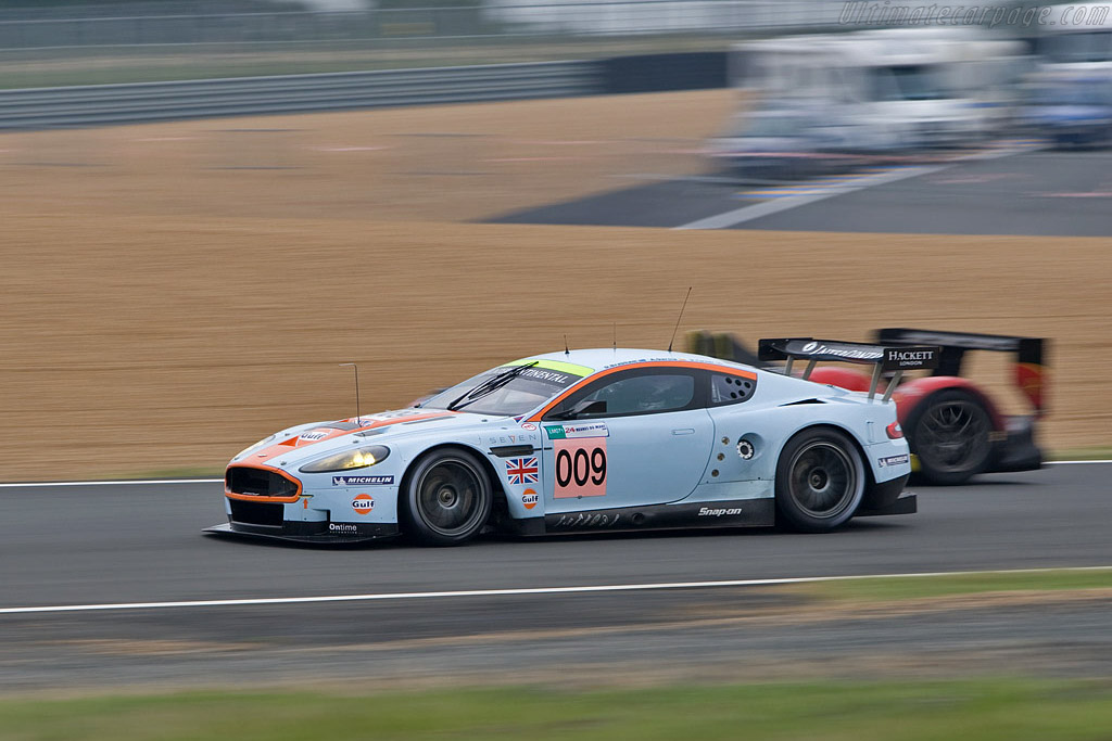 Aston Martin DBR9 - Chassis: DBR9/8 - Entrant: Aston Martin Racing  - 2008 24 Hours of Le Mans Preview