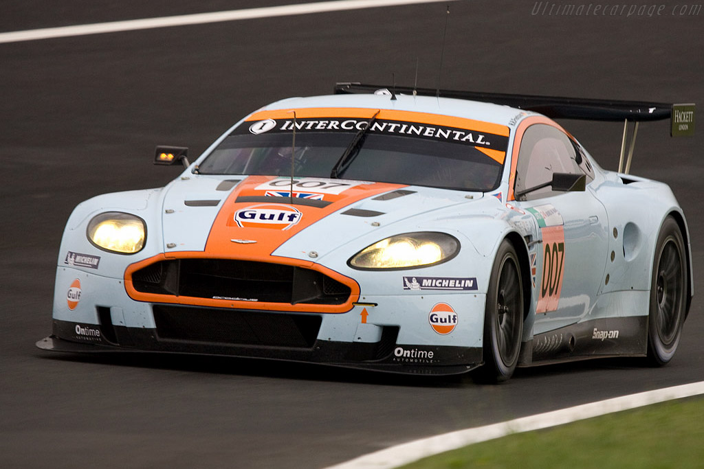 Aston Martin DBR9 - Chassis: DBR9/7 - Entrant: Aston Martin Racing  - 2008 24 Hours of Le Mans Preview