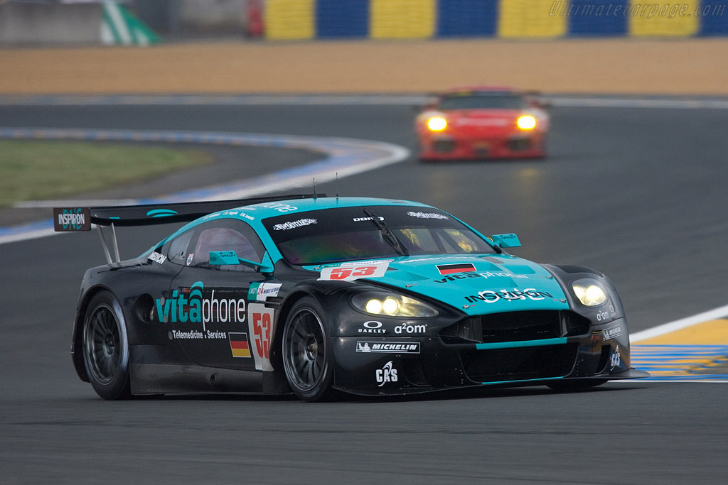 Aston Martin DBR9 - Chassis: DBR9/4 - Entrant: Vitaphone Racing Team  - 2008 24 Hours of Le Mans Preview