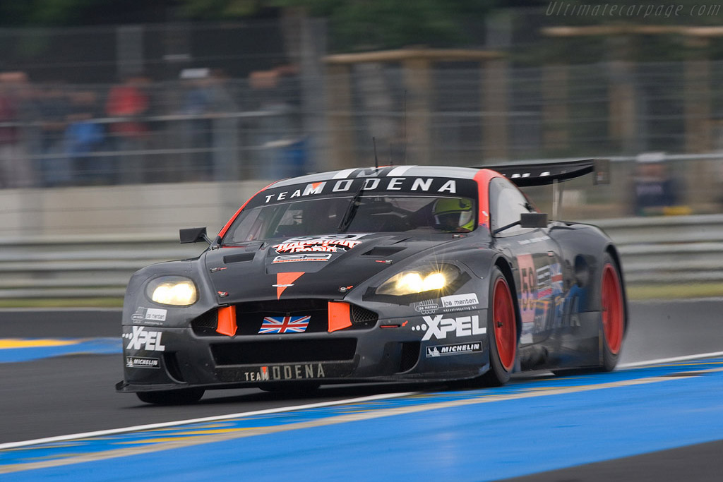 Aston Martin DBR9 - Chassis: DBR9/101 - Entrant: Team Modena  - 2008 24 Hours of Le Mans Preview