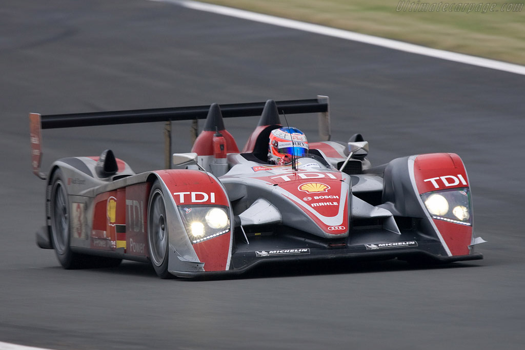Audi R10 - Chassis: 302 - Entrant: Audi Sport Team Joest  - 2008 24 Hours of Le Mans Preview