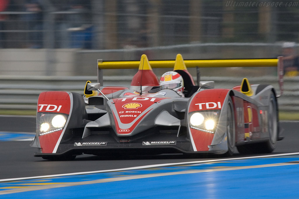 Audi R10 - Chassis: 204 - Entrant: Audi Sport North America  - 2008 24 Hours of Le Mans Preview