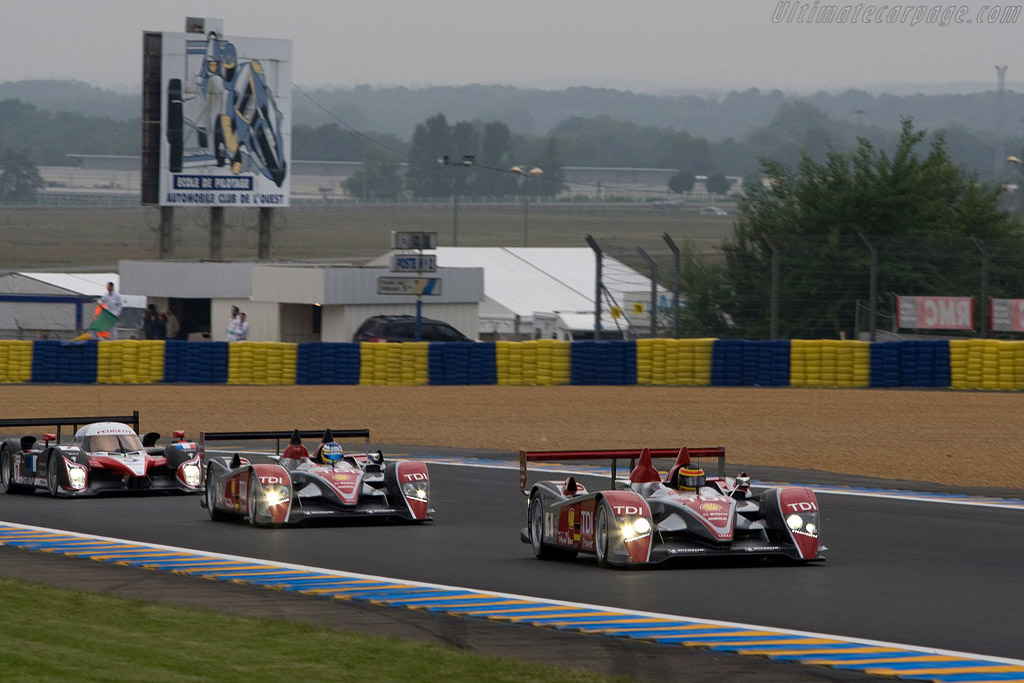 Audi R10 - Chassis: 301 - Entrant: Audi Sport North America  - 2008 24 Hours of Le Mans Preview