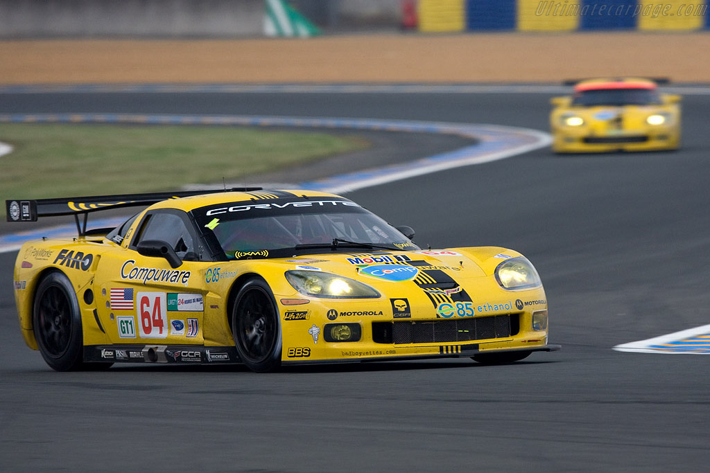 Chevrolet Corvette C6.R - Chassis: 008 - Entrant: Corvette Racing  - 2008 24 Hours of Le Mans Preview
