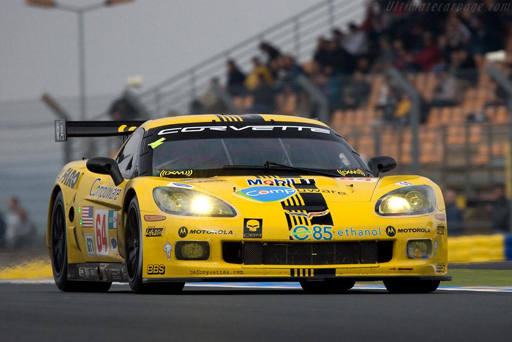 Chevrolet Corvette C6.R - Chassis: 008 - Entrant: Corvette Racing  - 2008 24 Hours of Le Mans Preview