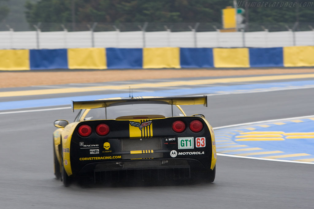 Chevrolet Corvette C6.R - Chassis: 007 - Entrant: Corvette Racing  - 2008 24 Hours of Le Mans Preview