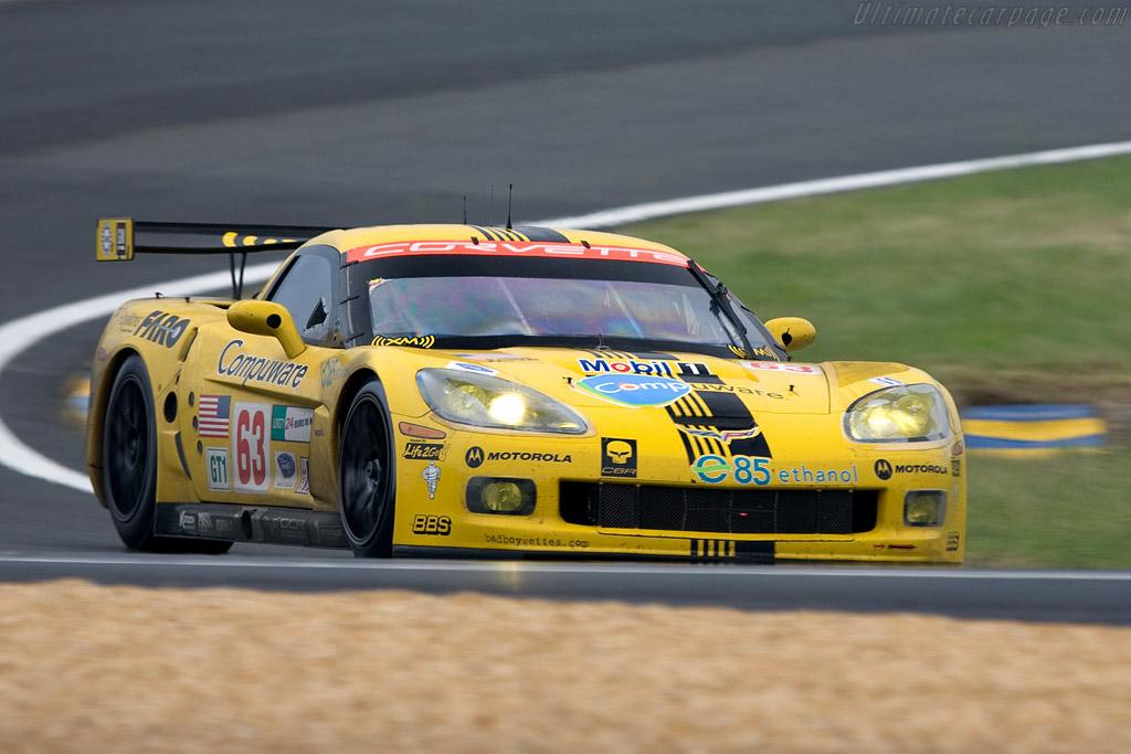 Chevrolet Corvette C6.R - Chassis: 007 - Entrant: Corvette Racing  - 2008 24 Hours of Le Mans Preview