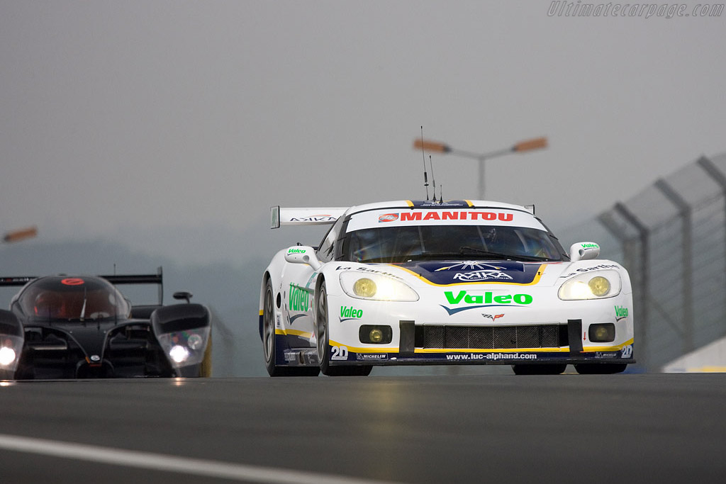 Chevrolet Corvette C6.R - Chassis: 003 - Entrant: Luc Alphand Adventures  - 2008 24 Hours of Le Mans Preview