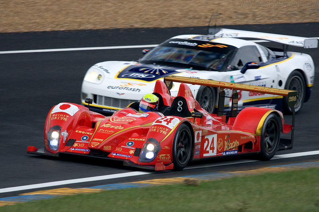 Courage LC70 Mugen - Chassis: LC70-05 - Entrant: Terramos  - 2008 24 Hours of Le Mans Preview