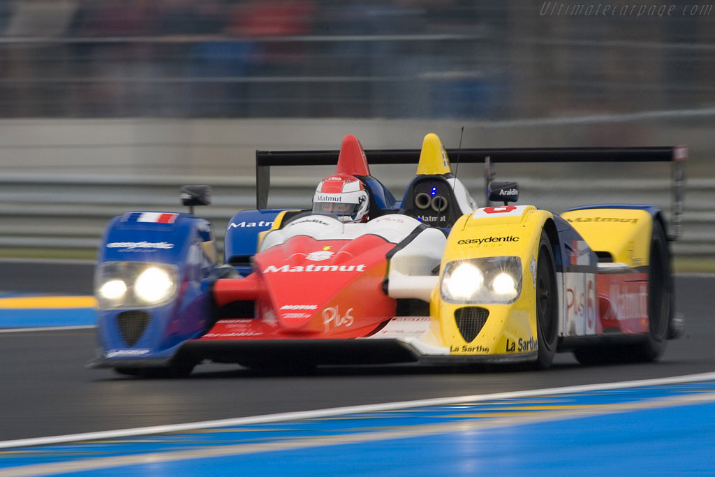 Courage-Oreca LC70 Judd - Chassis: LC70-10 - Entrant: Team Oreca Matmut  - 2008 24 Hours of Le Mans Preview