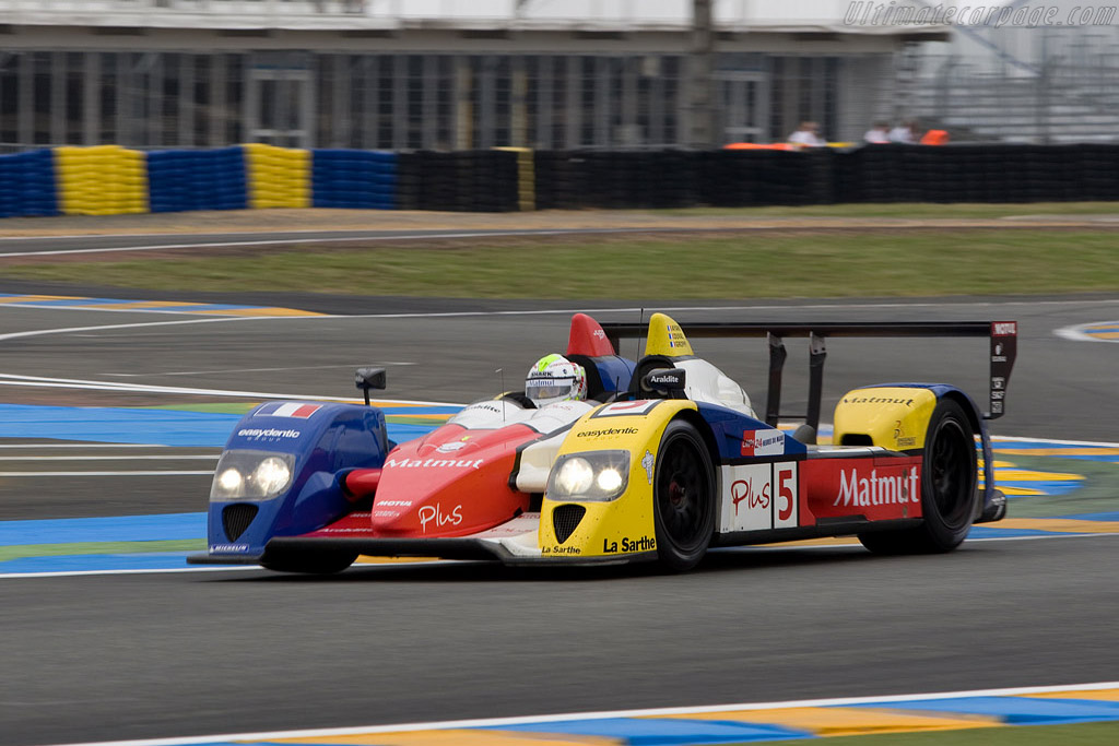 Courage-Oreca LC70 Judd - Chassis: LC70-11 - Entrant: Team Oreca Matmut  - 2008 24 Hours of Le Mans Preview