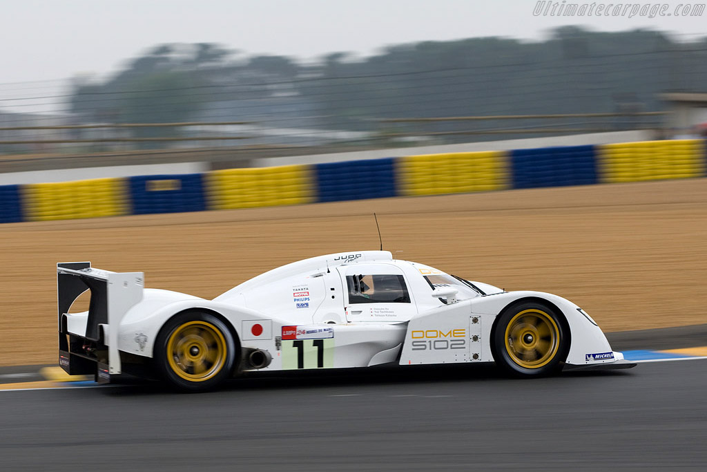 Dome S102 Judd - Chassis: S102-003 - Entrant: Dome Racing  - 2008 24 Hours of Le Mans Preview