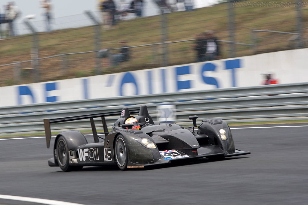 Embassy Racing WF01 Zytek - Chassis: WF01-02 - Entrant: Embassy Racing  - 2008 24 Hours of Le Mans Preview