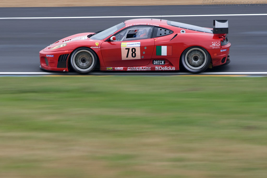 Ferrari F430 GTC - Chassis: 2464b - Entrant: AF Corse  - 2008 24 Hours of Le Mans Preview