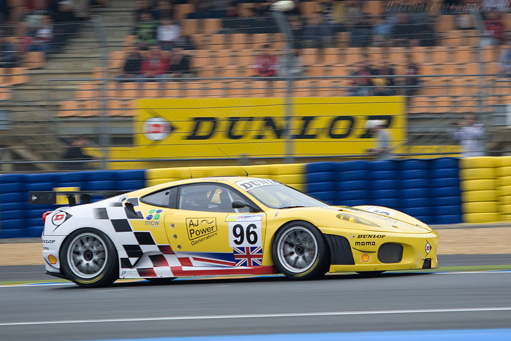 Ferrari F430 GTC - Chassis: 2408 - Entrant: Virgo Motorsport  - 2008 24 Hours of Le Mans Preview
