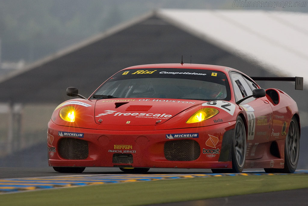 Ferrari F430 GTC - Chassis: 2606 - Entrant: Risi Competizione  - 2008 24 Hours of Le Mans Preview