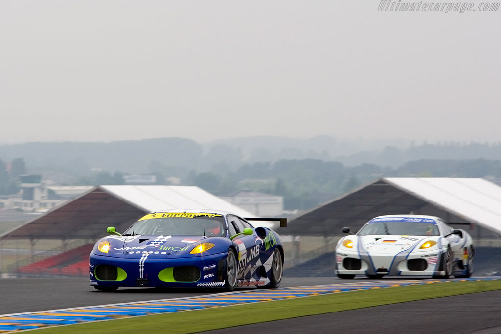 Ferrari F430 GTC - Chassis: 2466 - Entrant: JMB Racing  - 2008 24 Hours of Le Mans Preview