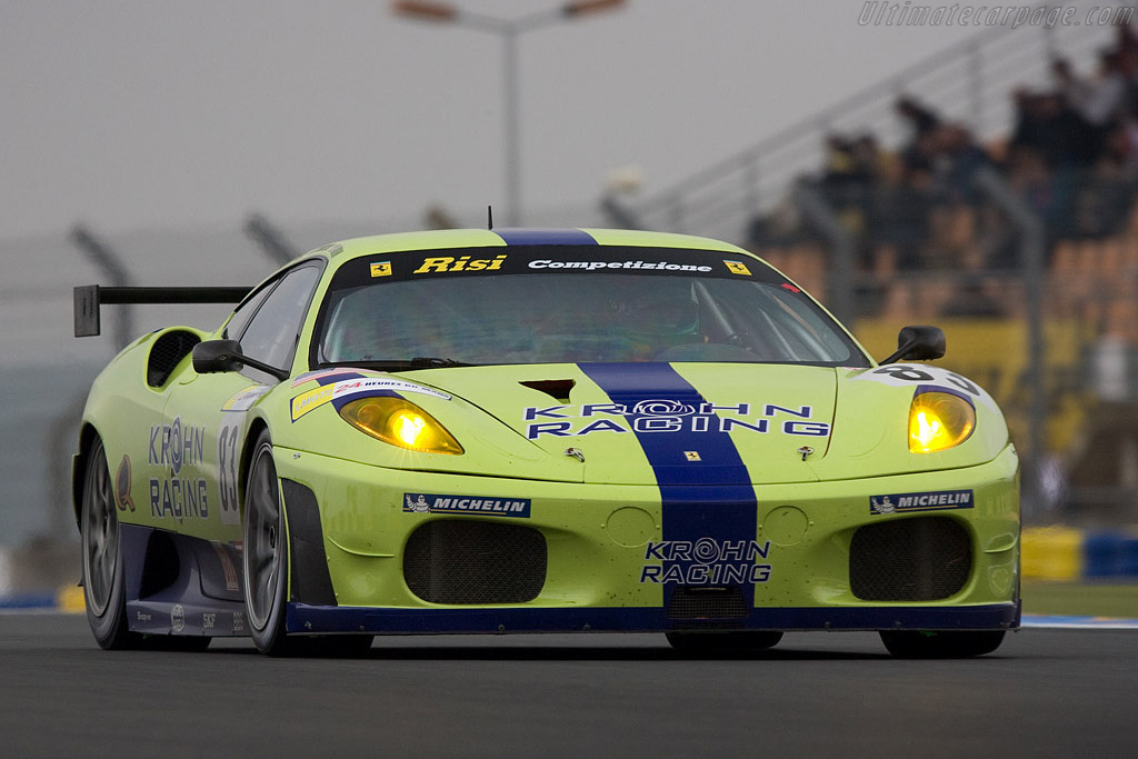 Ferrari F430 GTC - Chassis: 2456 - Entrant: Risi Competizione  - 2008 24 Hours of Le Mans Preview