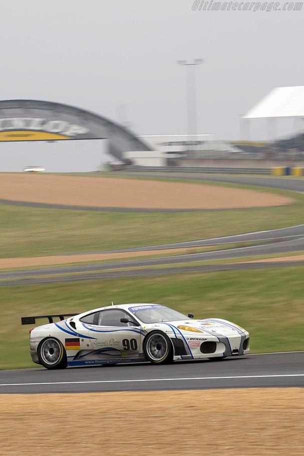 Ferrari F430 GTC - Chassis: 2612 - Entrant: Farnbacher Racing  - 2008 24 Hours of Le Mans Preview