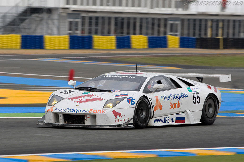 Lamborghini Murcielago R-GT - Chassis: LA01064 - Entrant: Interprogressbank Spartak Racing  - 2008 24 Hours of Le Mans Preview