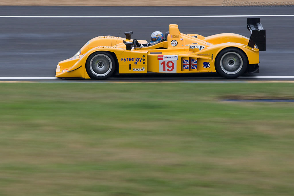 Lola B06/10 AER - Chassis: B0610-HU07 - Entrant: Chamberlain Synergy  - 2008 24 Hours of Le Mans Preview