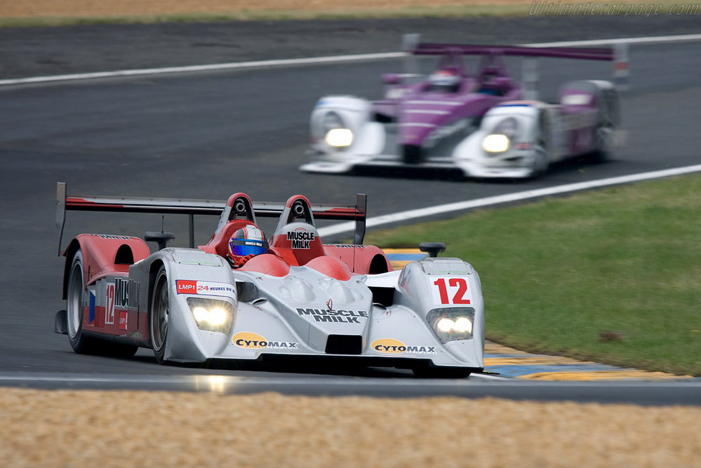 Lola B07/10 Judd - Chassis: B0610-HU03 - Entrant: Charouz Racing System  - 2008 24 Hours of Le Mans Preview