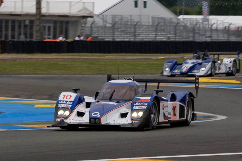 Lola B08/60 Aston Martin - Chassis: B0860-HU01 - Entrant: Charouz Racing System  - 2008 24 Hours of Le Mans Preview