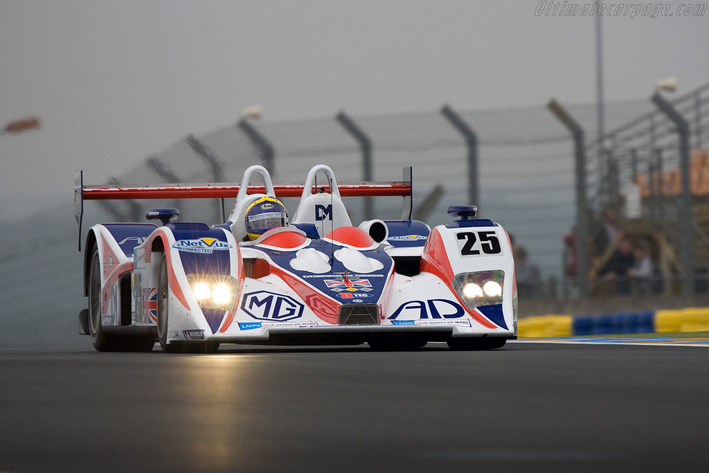 MG Lola EX264 - Chassis: B0540-HU05 - Entrant: RML  - 2008 24 Hours of Le Mans Preview